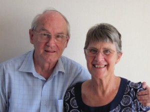 Image showing Mike and Kerstin Wakely, Executive Trustee, Starfish Asia (UK)