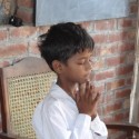 Boy, praying