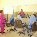 Beauty training at the VTC Karachi