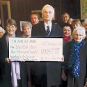 A group of churches from Shropshire presenting a cheque to Starfish Asia