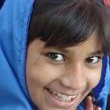 Image of Pakistani girl, smiling